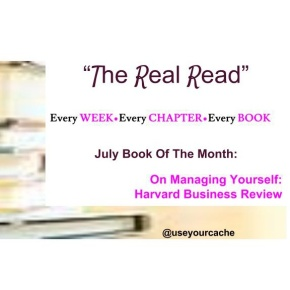 [TheRealRead] BookOfTheMonth: ft. #HarvardBusinessReview On Managing Yourself: Chapters and Dates